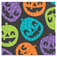 Creative Converting™ 48-Count Playful Pumpkins Halloween Beverage Napkins