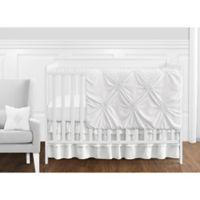 Sweet Jojo Designs Harper 11-Piece Crib Bedding Set in White