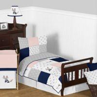 Sweet Jojo Designs Fox Patch 5-Piece Toddler Bedding Set