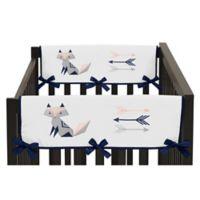 Sweet Jojo Designs Fox Patch Side Rail Guard Covers (Set of 2)