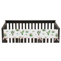Sweet Jojo Designs Cactus Floral Long Rail Guard Cover