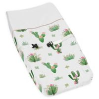 Sweet Jojo Designs Cactus Floral Changing Pad Cover