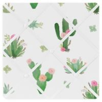 Sweet Jojo Designs Cactus Floral Memo Board