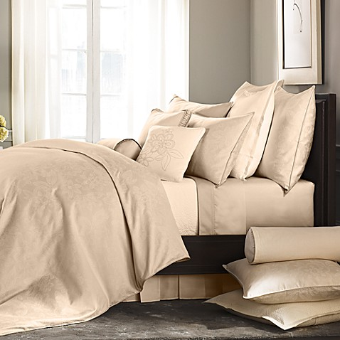Barbara Barry® Pave King Flat Sheet in Alabaster