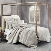 Wamsutta® Collection Velvet Hand Stitched Full/Queen Duvet Cover in Stone
