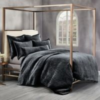 Wamsutta® Collection Velvet Hand Stitched Full/Queen Duvet Cover in Charcoal