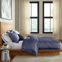 Flatiron® Tencel Reversible Queen Duvet Cover in Blue