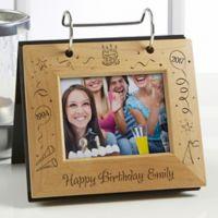 Happy Birthday Flip Photo Album