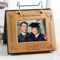 Graduation Memories Engraved Flip Photo Album