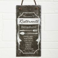 Kitchen Chalkboard Slate Sign