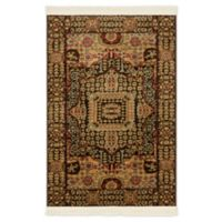 Unique Loom Jackson Palace 2' X 3' Powerloomed Area Rug in Brown