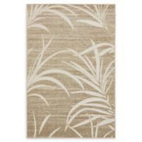 Unique Loom Orlando Transitional 4' X 6' Powerloomed Area Rug in Beige