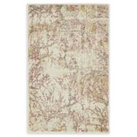 Unique Loom Sala Stockholm 2' X 3' Powerloomed Area Rug in Dark Beige