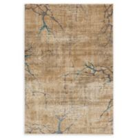 Unique Loom Nacka Stockholm 6' X 9' Powerloomed Area Rug in Light Brown