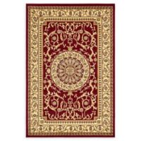 Unique Loom Napoleon Versailles 6' X 9' Powerloomed Area Rug in Red