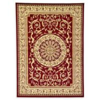 Unique Loom Napoleon Versailles 7' X 10' Powerloomed Area Rug in Red