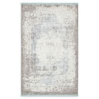 Unique Loom Olwen Arcadia 5' X 8' Powerloomed Area Rug in Light Blue