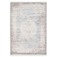 Unique Loom Olwen Arcadia 7' X 10' Powerloomed Area Rug in Light Blue