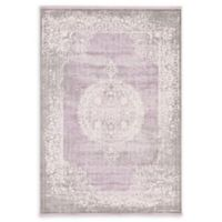 Unique Loom Olwen Arcadia 7' X 10' Powerloomed Area Rug in Purple