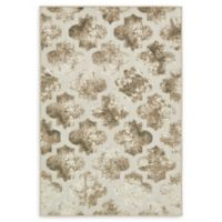 Unique Loom Nashville 4' x 6' Power-Loomed Area Rug in Cream