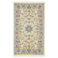 "Unique Loom Newcastle Nain Design 3'3"" X 5' Powerloomed Area Rug in Beige"