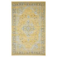 Unique Loom Vintage Heritage 5' X 8' Powerloomed Area Rug in Yellow
