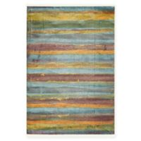 """Native Collection Tribal Modern 4'3"""" x 6' Area Rug in Multi"""