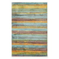 "Native Collection Tribal Modern 5'5"" x 8' Area Rug in Multi"