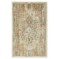 Unique Loom Sater Stockholm 2' X 3' Powerloomed Area Rug in Beige