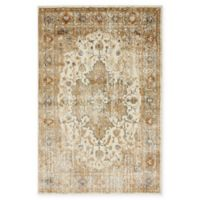Unique Loom Sater Stockholm 4' X 6' Powerloomed Area Rug in Beige