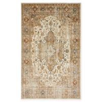 Unique Loom Sater Stockholm 5' X 8' Powerloomed Area Rug in Beige