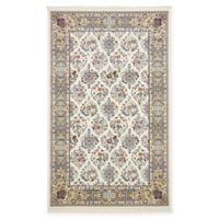 Unique Loom Sheffield Nain Design 5' X 8' Powerloomed Area Rug in Ivory