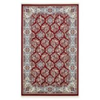 Unique Loom Jefferson Nain 5' x 8' Power-Loomed Area Rug in Burgundy