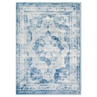 Unique Loom Salle Garnier Sofia 7' x 10' Power-Loomed Area Rug in Blue