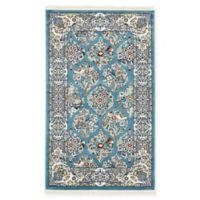 Unique Loom Sheffield 3' x 5' Area Rug in Blue
