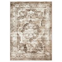 Unique Loom Sofia 7' x 10' Area Rug in Light Brown