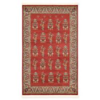 "Unique Loom Savoy Nomad 3'3"" x 5'3"" Area Rug in Red"