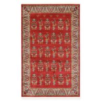 Unique Loom Savoy Nomad 5' x 8' Area Rug in Red