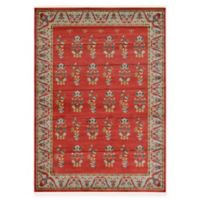 Unique Loom Savoy Nomad 7' x 10' Area Rug in Red