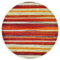 Unique Loom Soleil Lyon 6' Round Powerloomed Area Rug