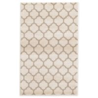 Unique Loom Philadelphia Trellis 3'3 x 5'3 Area Rug in Beige/Tan