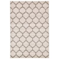 Unique Loom Philadelphia Trellis 6' x 9' Area Rug in Beige/Tan