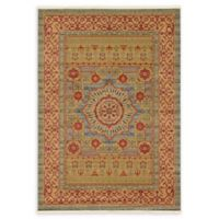 Unique Loom Quincy Palace 7' X 10' Powerloomed Area Rug in Light Blue