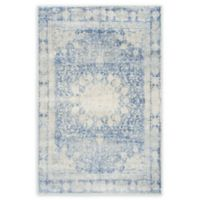 Unique Loom Rockwell Asheville 4' X 6' Area Rug in Navy