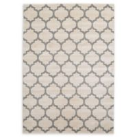 Unique Loom Philadelphia Trellis 7' X 10' Powerloomed Area Rug in Beige