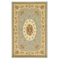 Unique Loom Phillipe Versailles 5' x 8' Area Rug in Light Blue