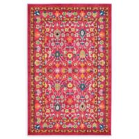 Unique Loom Paradise Palazzo 5' X 8' Powerloomed Area Rug in Pink