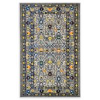 """Unique Loom Paradise Palazzo 3'3"""" X 5'3"""" Powerloomed Area Rug in Gray"""