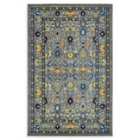 Unique Loom Paradise Palazzo 5' X 8' Powerloomed Area Rug in Gray