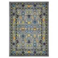 Unique Loom Paradise Palazzo 7' X 10' Powerloomed Area Rug in Gray